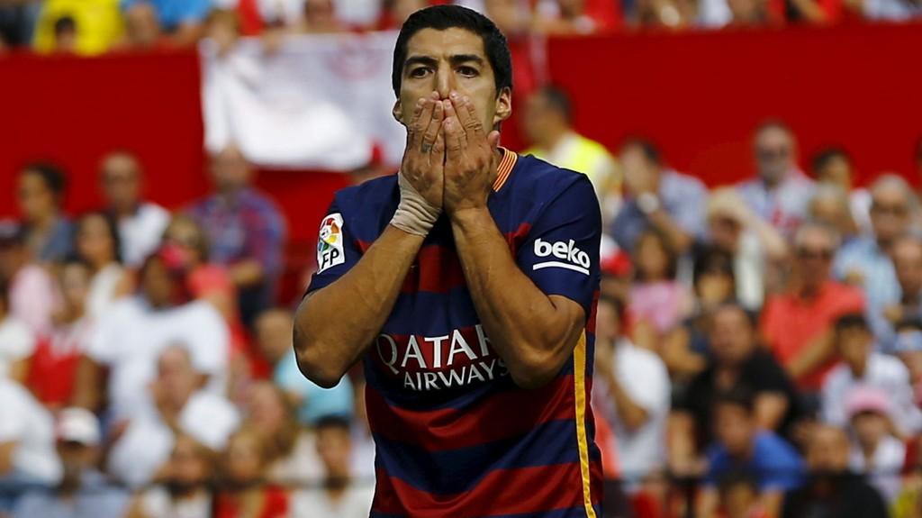 NYTT TAP: Barcelonas Luis Suarez har grunn til å deppe.
