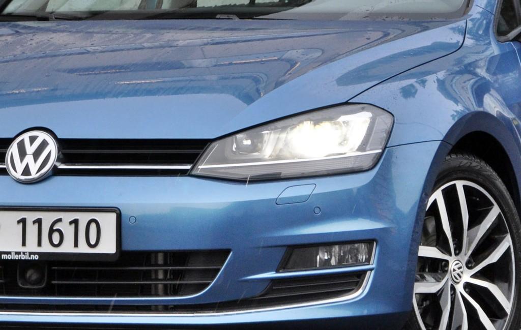 SVIKT I SALGET: VW hadde en nedgang i salget i september, men er fremdeles Norges mest solgte bilmerke.