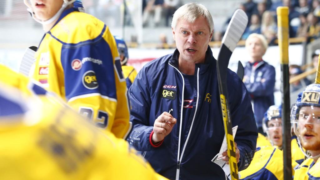 TAPTE: Storhamars trener Alexander Smirnov måtte innse at de gikk på en ordentlig skrell mot Sparta.