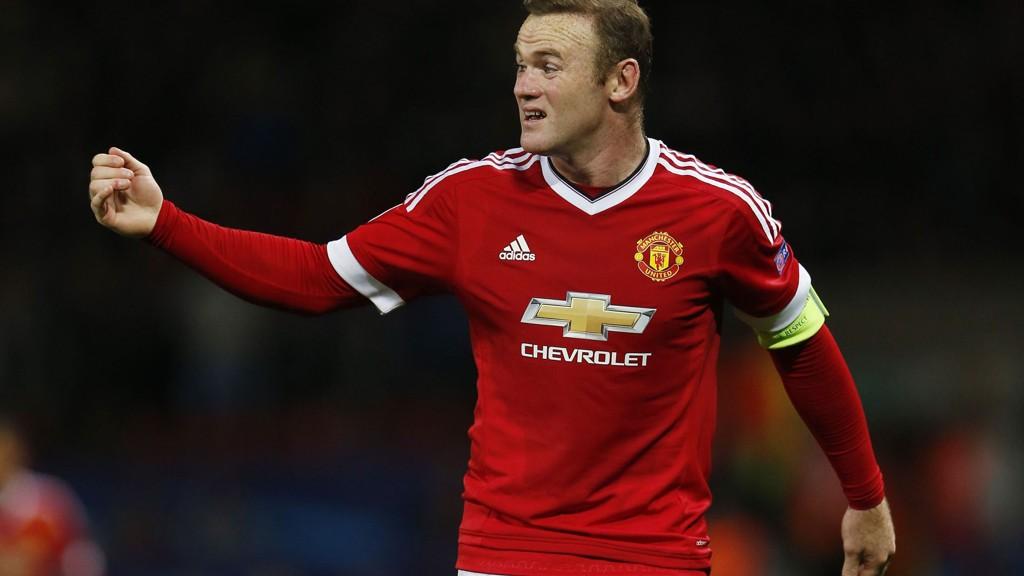 Wayne Rooney og Manchester United møter Arsenal borte til toppkamp søndag ettermiddag.