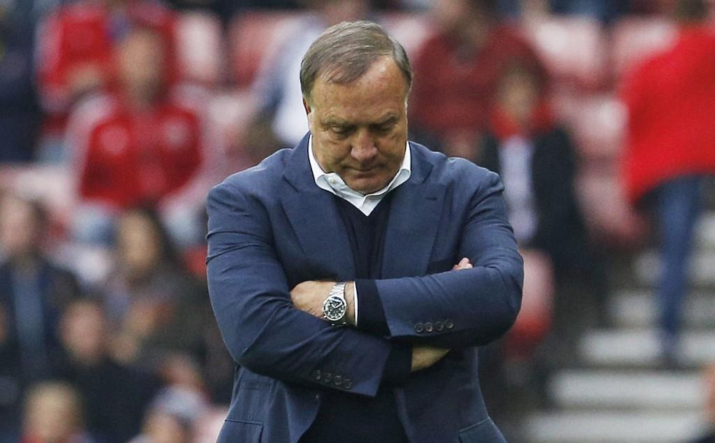 FERDIG: Dick Advocaat har ledet Sunderland i kamp for siste gang.