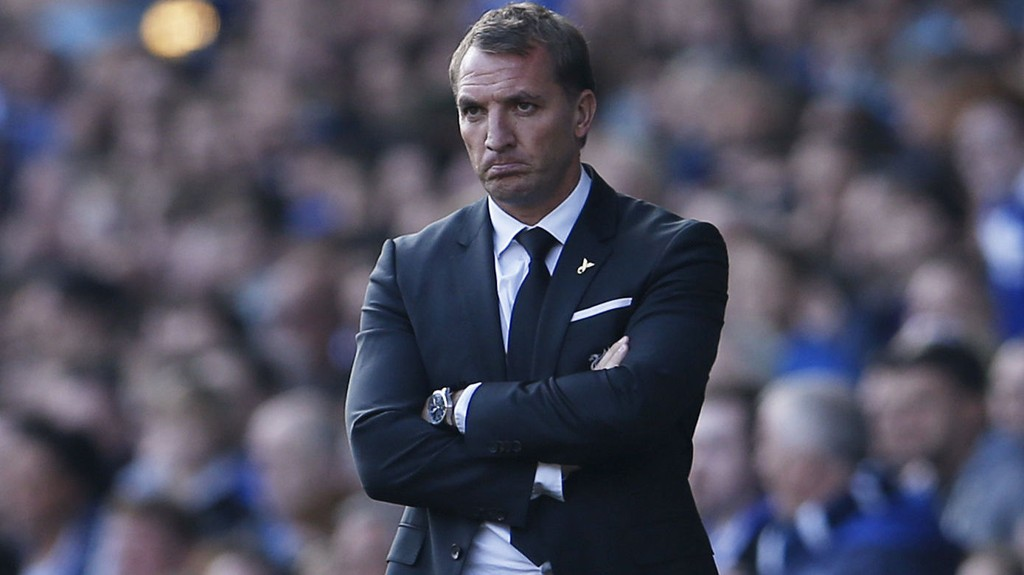 FÅTT SPARKEN: Brendan Rodgers er ferdig som Liverpool-manager.
