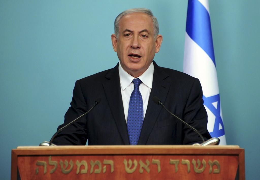NETANYAHU: Israels statsminister Benjamin Netanyahu.
