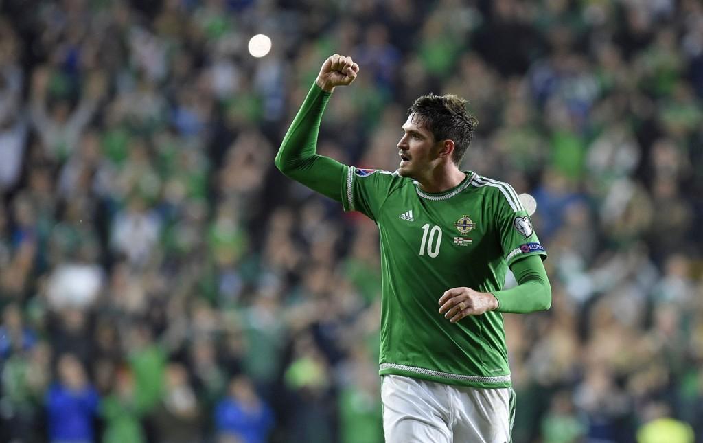 KEY MAN: Dessverre for Nord-Irland er Kyle Lafferty suspendert til torsdagens kamp.