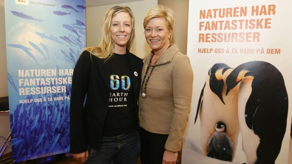 Generalsekretær Nina Jensen i WWF, som er søsteren til finansminister Siv Jensen, er lite imponert over regjeringens grønne satsing i statsbudsjettet.