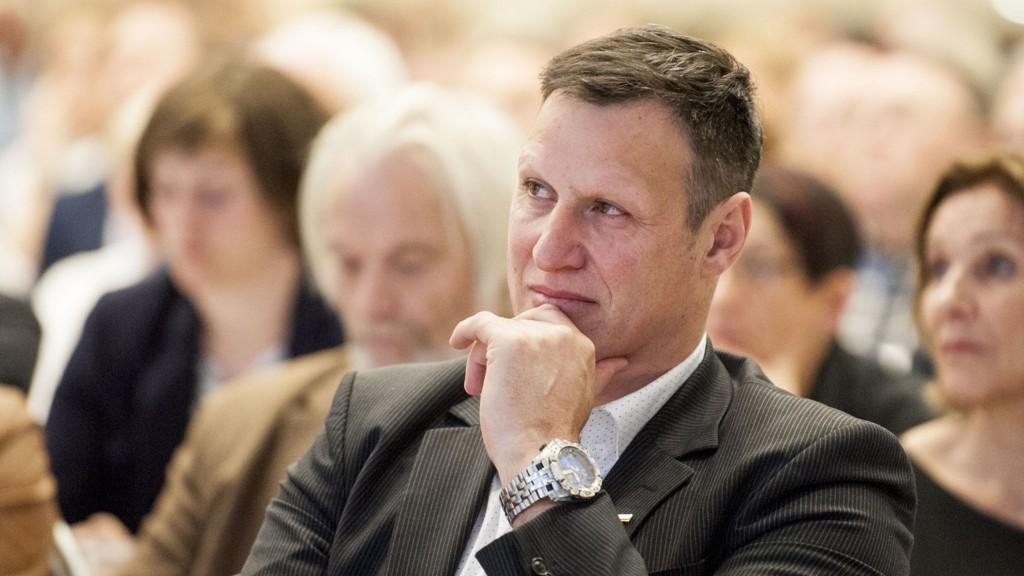 MISFORNØYD: Idrettspresident Tom Tvedt er ikke fornøyd med det foreløpige statsbudsjettet.