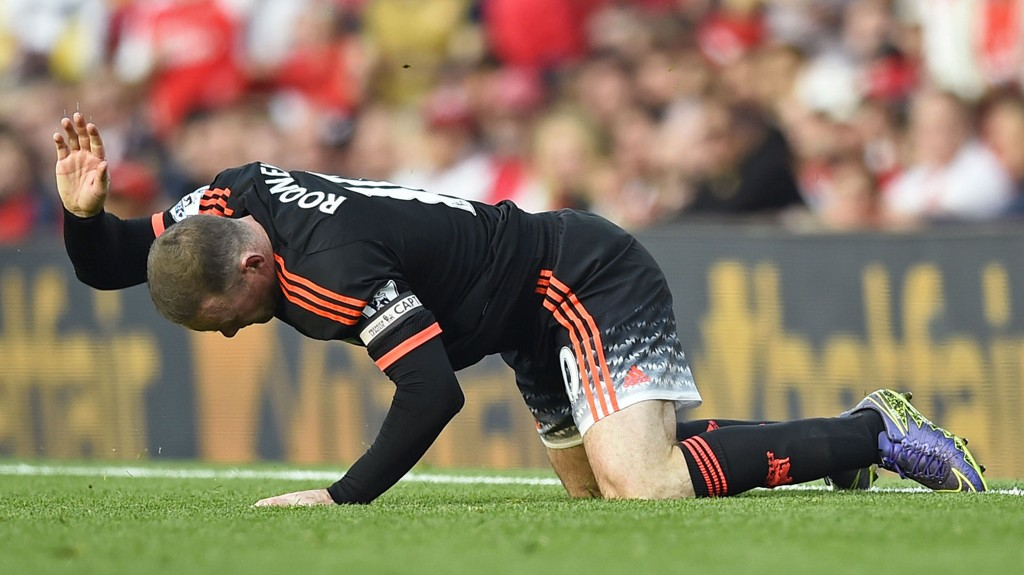 SKADET: Wayne Rooney er usikker til Englands EM-kvalifiseringskamp mot Estland.