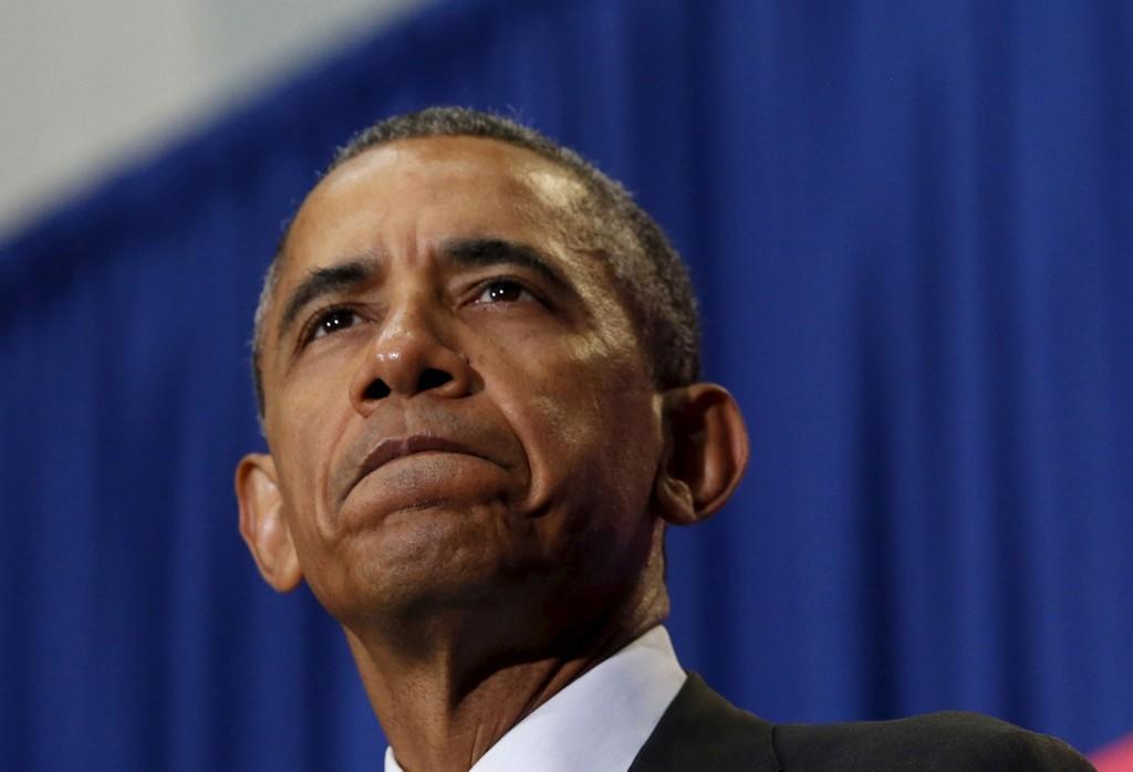 BER OM UNNSKYLDNING: Barack Obama.