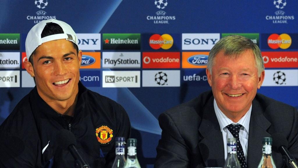 GODE VENNER: Sir Alex Ferguson var som en far for Ronaldo, forklarer sistnevnte.