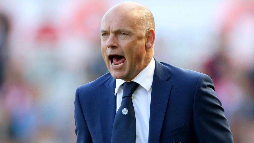 FERDIG I LEEDS: Uwe Rösler har fått sparken som manager i Leeds United.