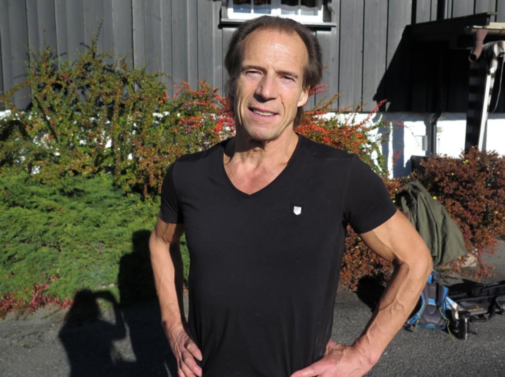 FLYTTER ALDRI: - Groruddalen er det beste stedet å bo, mener Aps Jan Bøhler.