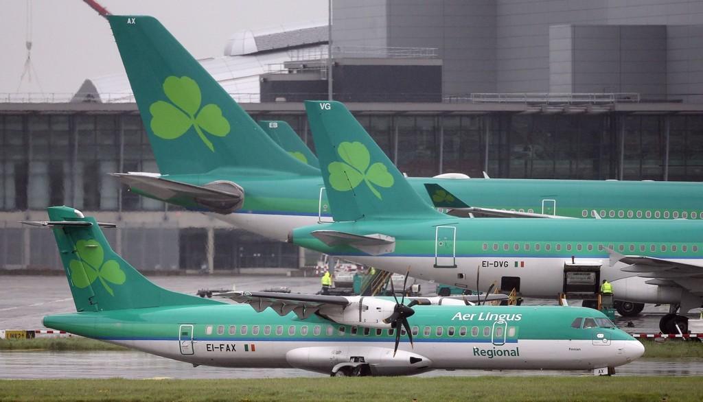 Hendelsen skjedde om bord i et fly som tilhører det irske flyselskapet Aer Lingus.