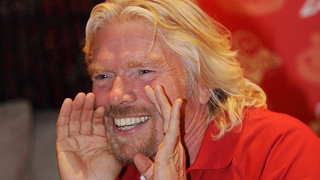 Virgin-gründeren Richard Branson har lekket informasjon fra et hemmelig FN-notat.