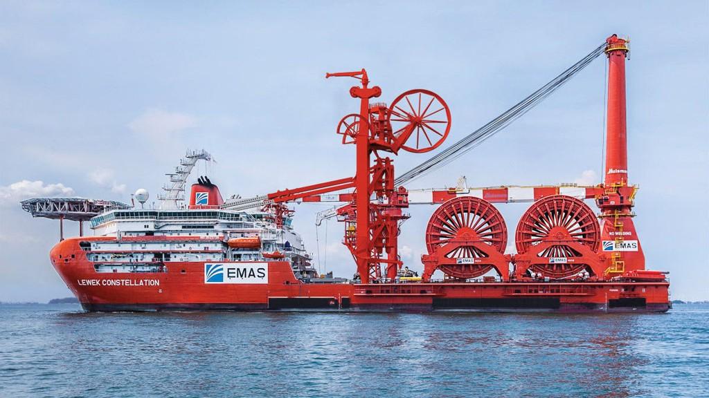 Subsea-fartøyet Lewek Constellation til EMAS Offshore.