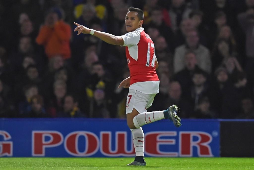GULLGUTT: Det hjelper å ha en spiller som Alexis Sanchez når man er i poengnød. Han var viktig også mot Watford i helgen.