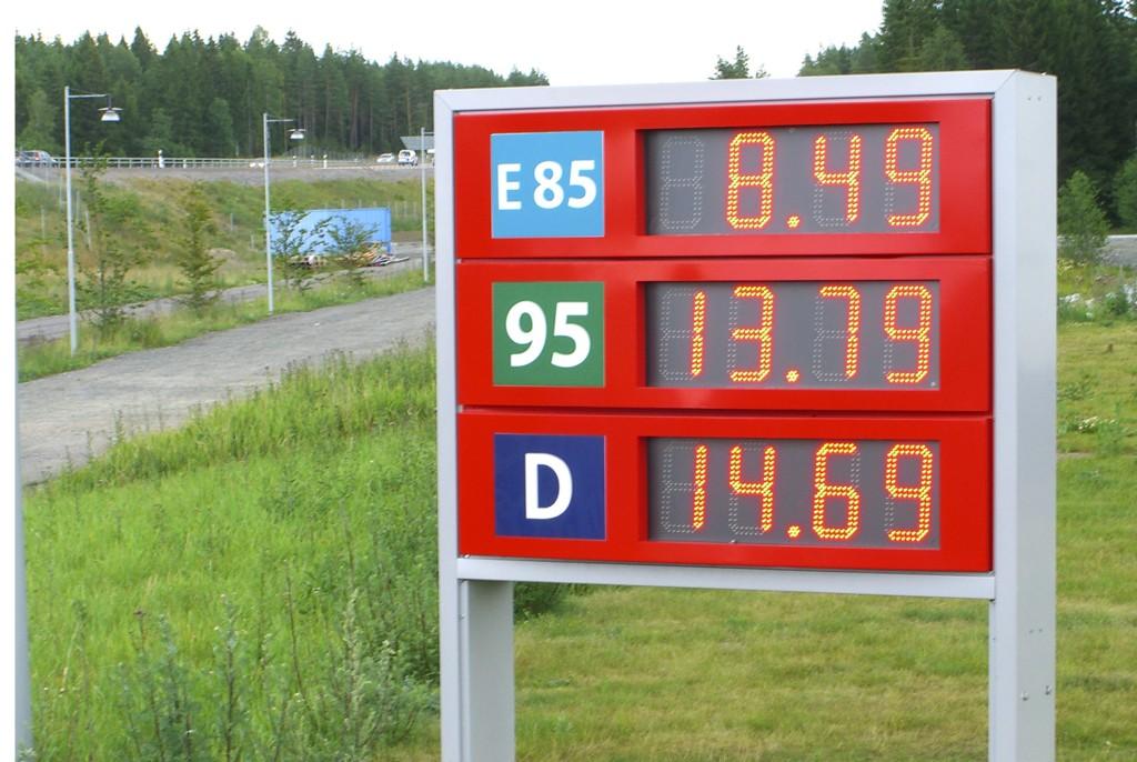 Færre vil fylle diesel i årene som kommer.