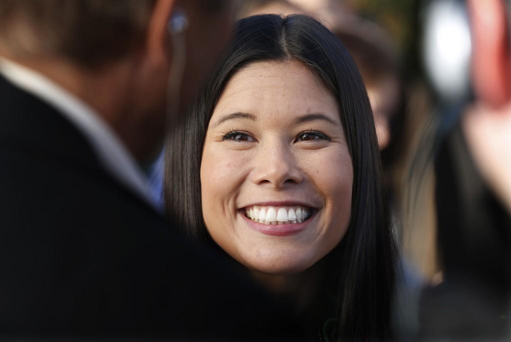 FÅR KJEFT: Lan Marie Nguyen Berg i Miljøpartiet De Grønne.