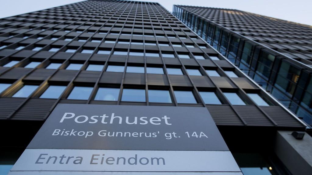 DNB Markets kutter kursmålet på eiendomsselskapet Entra, etter planene om skatt på eiendom og bilfritt Oslo sentrum . Foto: Thomas Winje Øijord / NTB scanpix