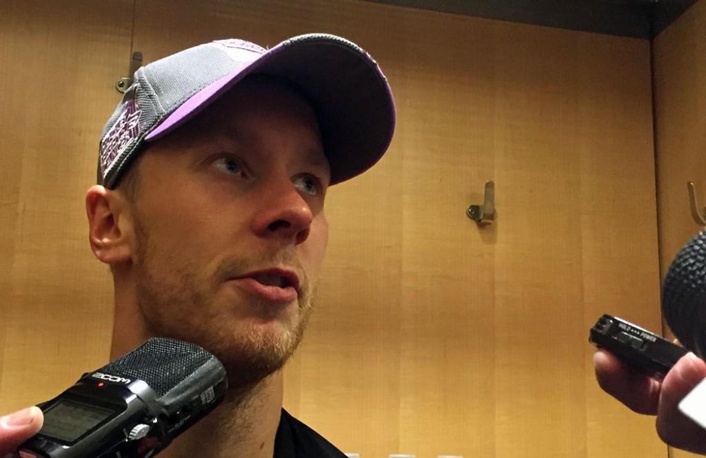 NØKKELSPILLER: Selv om han etter planen bare skal spille 20-25 kamper for New York Rangers denne sesongen, er Antti Raanta en meget viktig brikke i laget.
