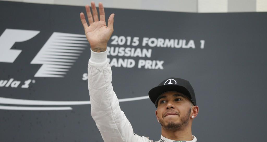 Lewis Hamilton kan sikre sin tredje VM-tittel søndag.