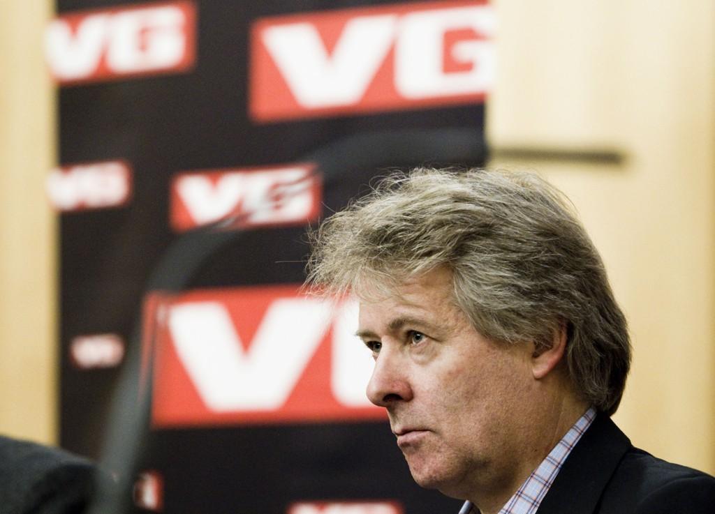 SLIPER SPAREKNIVEN: Sjefredaktør i VG, Torry Pedersen.