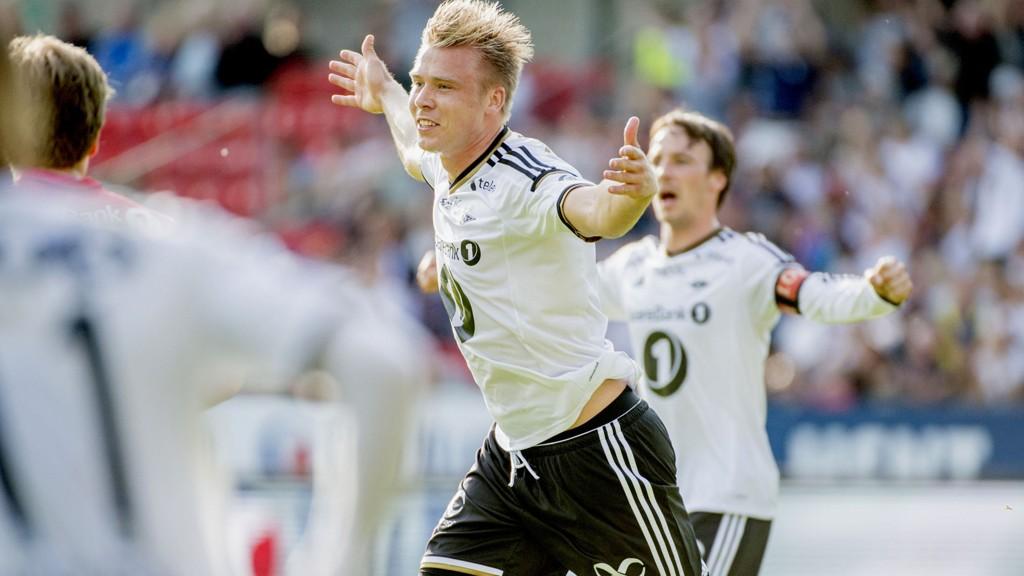 MER JUBEL NESTE ÅR? Rosenborgs Alexander Toft Søderlund har hatt en god sesong.