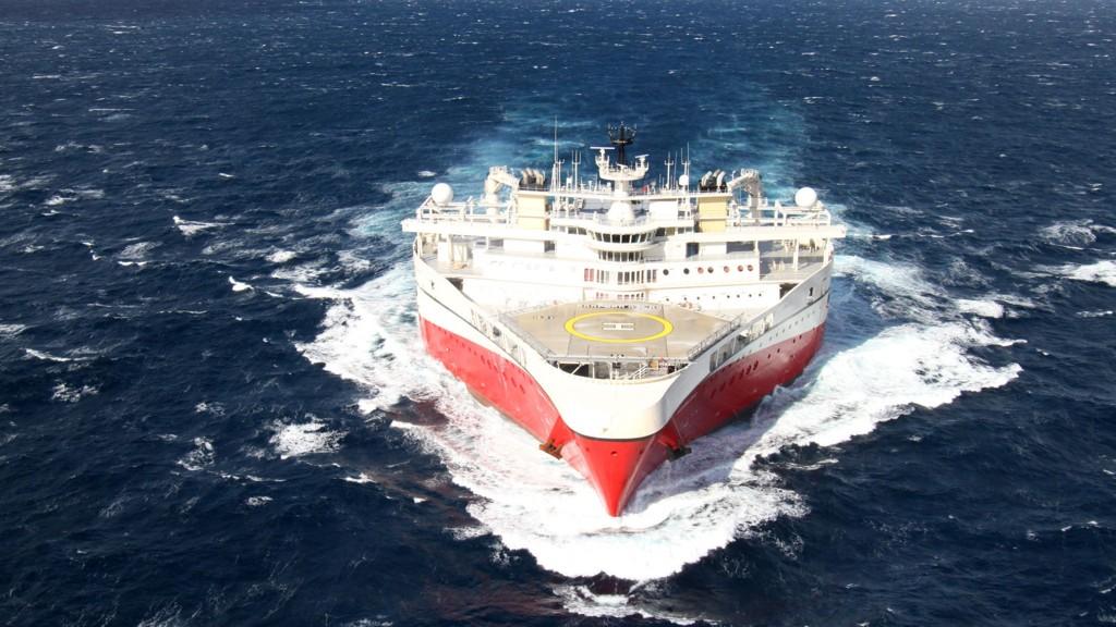 Seismikkselskapet PGS sitt skip Ramform Atlas.