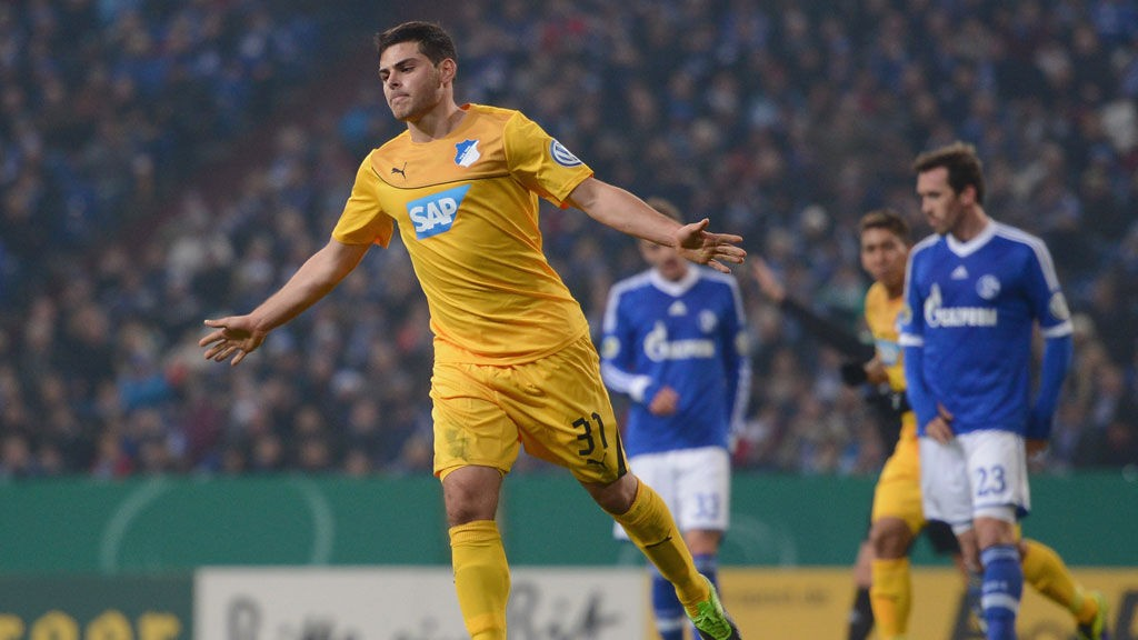Hoffenheims Kevin Volland har fem ligamål denne sesongen.