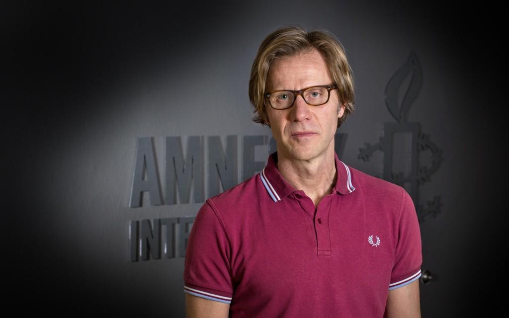 Amnesty Norges generalsekretær Jon Peder Egenæs.