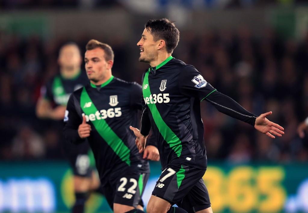 KJØR DA: Bojan er i gnistrende form etter skadecomebacket, og avgjorde også mot Swansea sist mandag.
