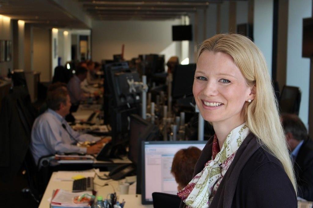 NULLRENTE: Sjeføkonom Kari Due-Andresen og Handelsbanken spår nullrente fra Norges Bank senest ved utgangen av neste år.