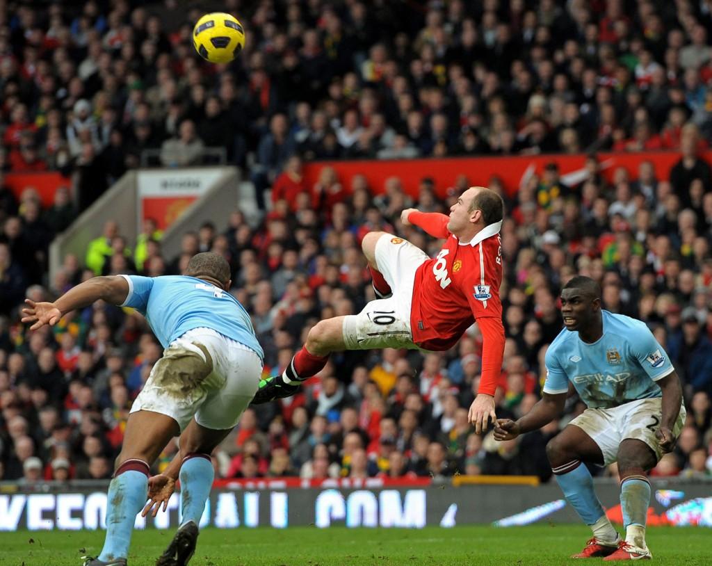REPRISE?: Wayne Rooney og Manchester United møter byrival Manchester City i helgen.