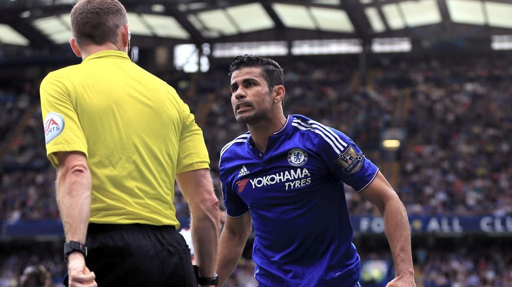 SNAKKER UT: Diego Costa forteller at han ikke bryr seg om kritikken fra andre.