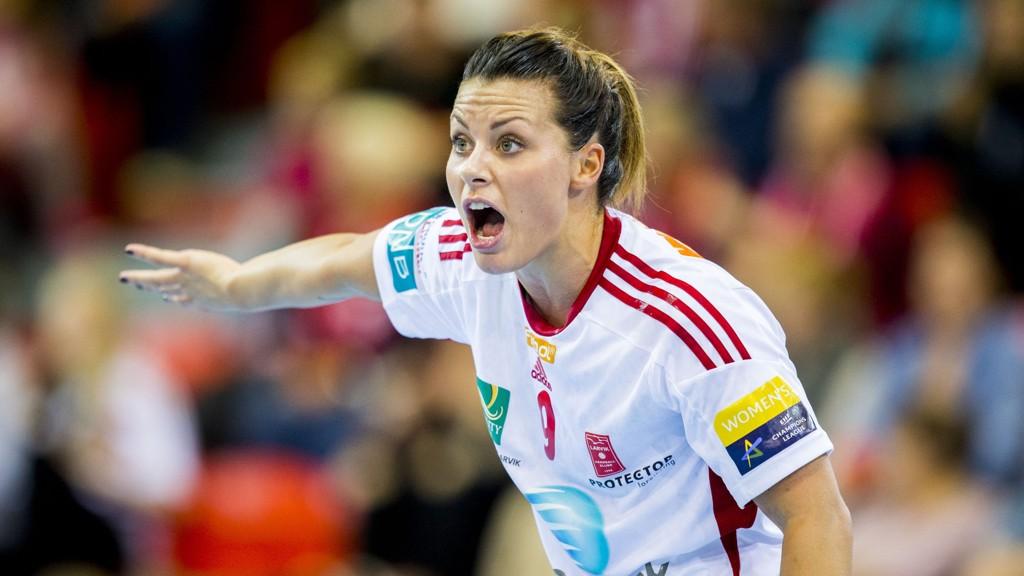 VANT: Nora Mørk scoret ni av Larviks mål fredag.