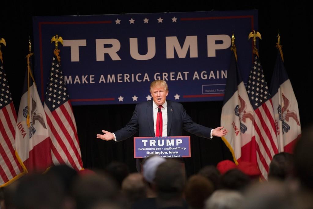 USAS NESTE PRESIDENT? Stadig flere tror at det kan bli forretningsmannen Donald Trump.