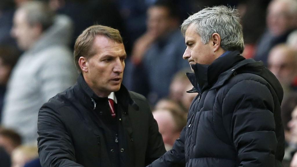 OVERTAR? Brendan Rodgers er aktuell som erstatter for Jose Mourinho.
