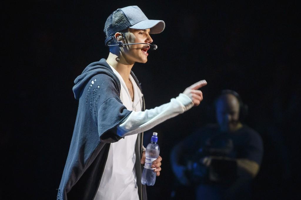 FORLOT SCENEN: Men det er ikke sikkert om saken får et rettslig etterspill for Justin Bieber.