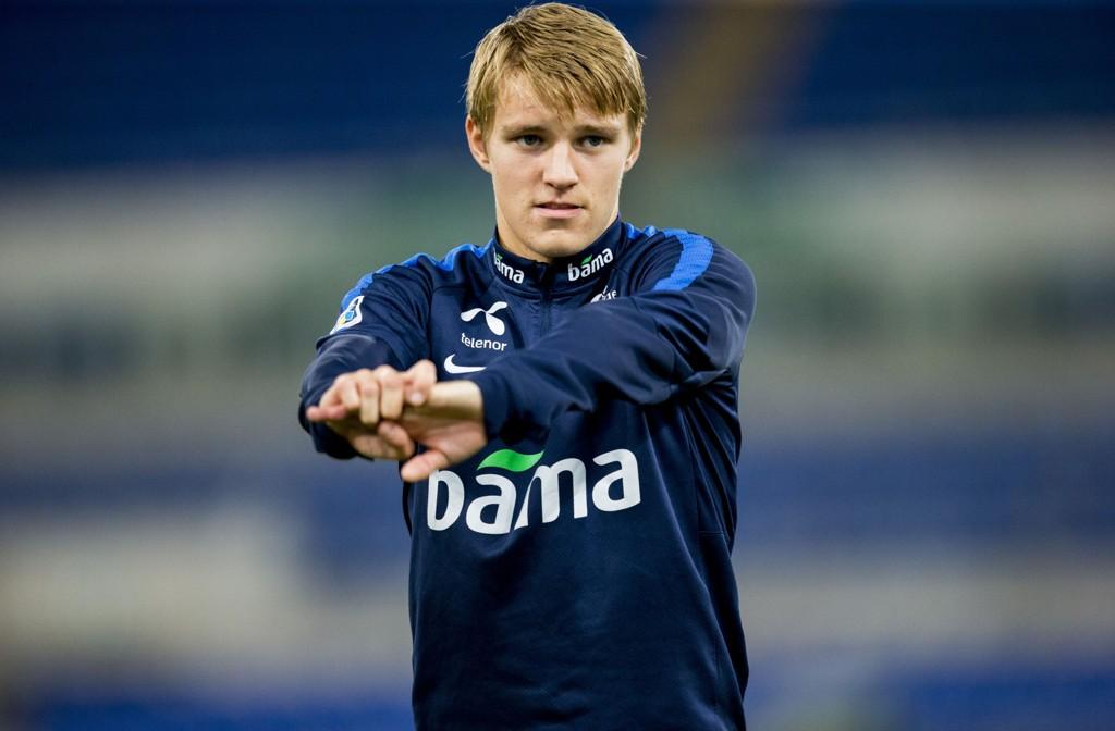VIL PÅ LÅN: Martin ødegaard vurderer et utlån, hevder Marca.