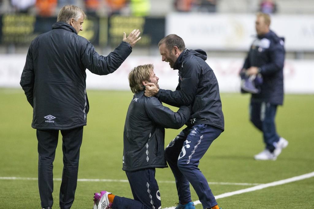 FIKK JOBBEN: Trond Fredriksen fortsetter som Aalesund-trener.