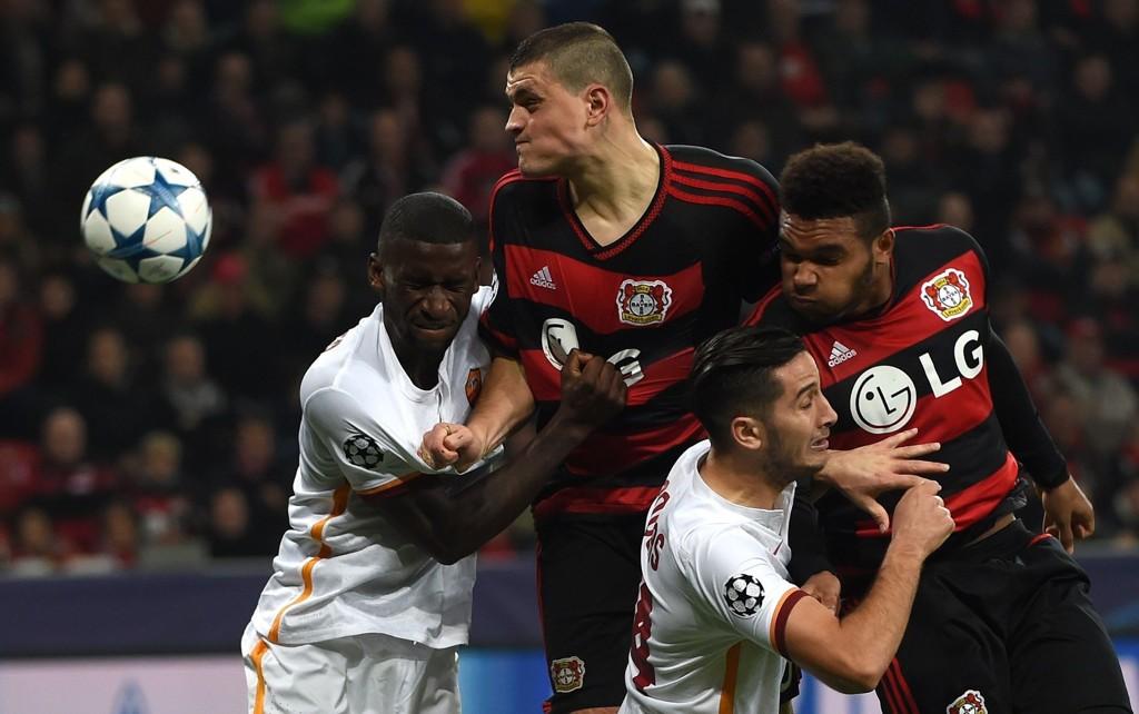 MØTER ROMA: Bayer Leverkusen har en uhyre viktig kamp i Roma denne midtuken.