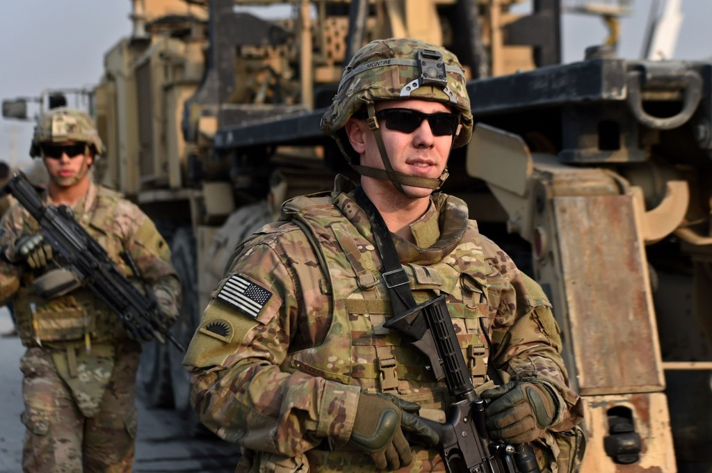 USA kommer til å sende spesialstyrker for å bistå opprørere i Syria. Bildet er en illustrasjon og viser amerikanske soldater i Afghanistan.