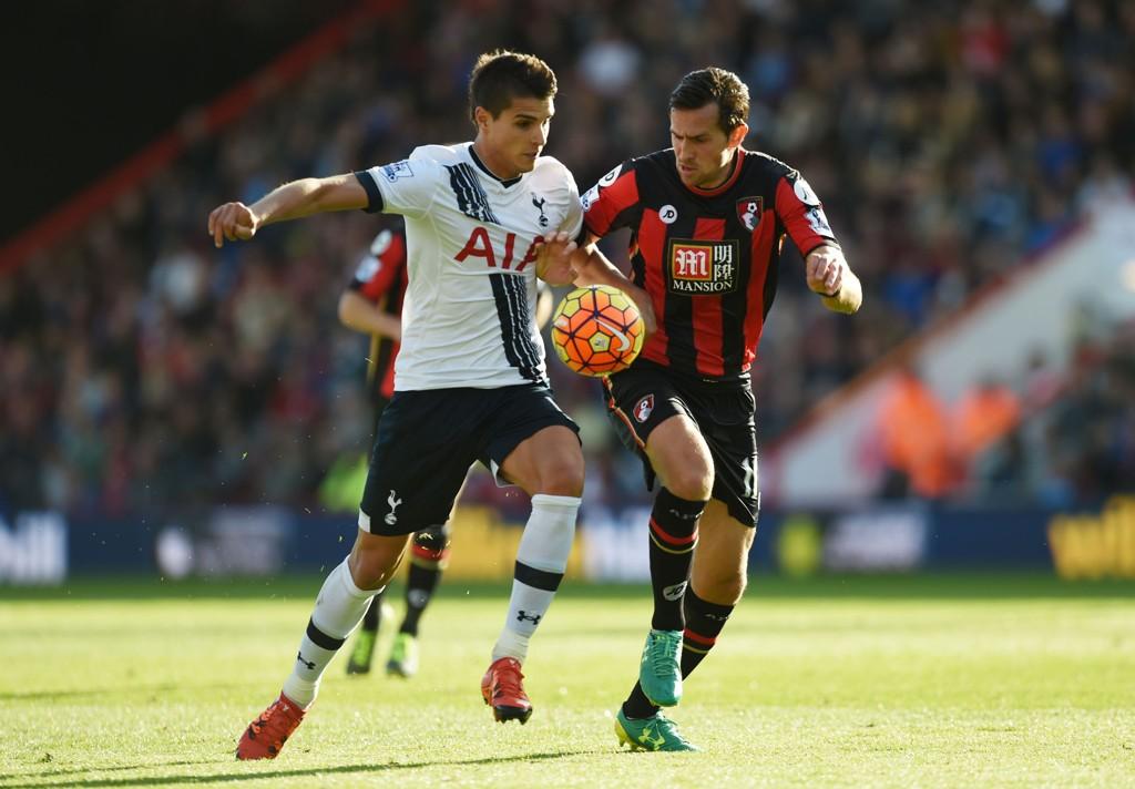 LØSNET PÅ SCORINGSFRONTEN: Erik Lamela har endelig begynt å putte mål på fast basis for Tottenham.
