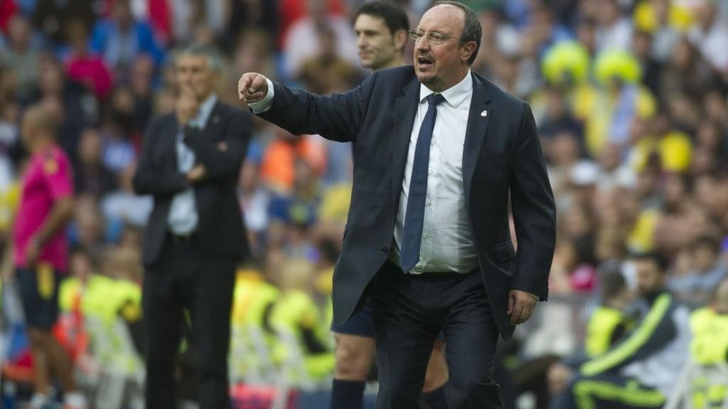SOLID TYPE: Real Madrid slipper ikke inn mye mål med Rafa Benitez på trenerbenken.
