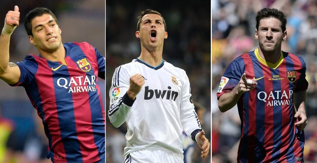 PÅ DITT LAG?: Nå kan alle Nettavisens Fantasy-spillere få tilgang til en rekke europeiske stjerner. Som Luis Suarez, Cristiano Ronaldo og Lionel Messi.