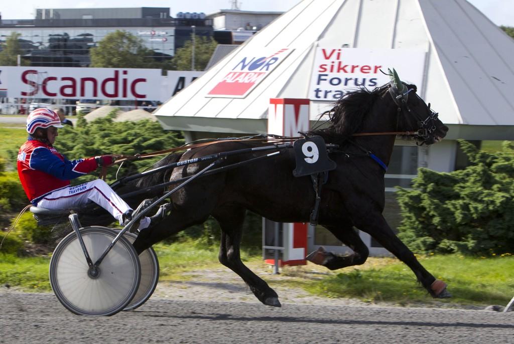 Ove Wassberg og Lille Jerkeld har imponert. Foto Morten Skifjeld/Hesteguiden.com