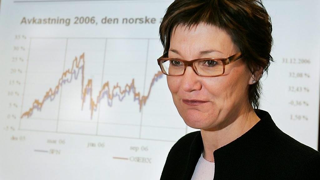 Administrerende direktør Olaug Svarva og Folketrygdfondet tok tap i tredje kvartal, som følge av turbulente markeder.