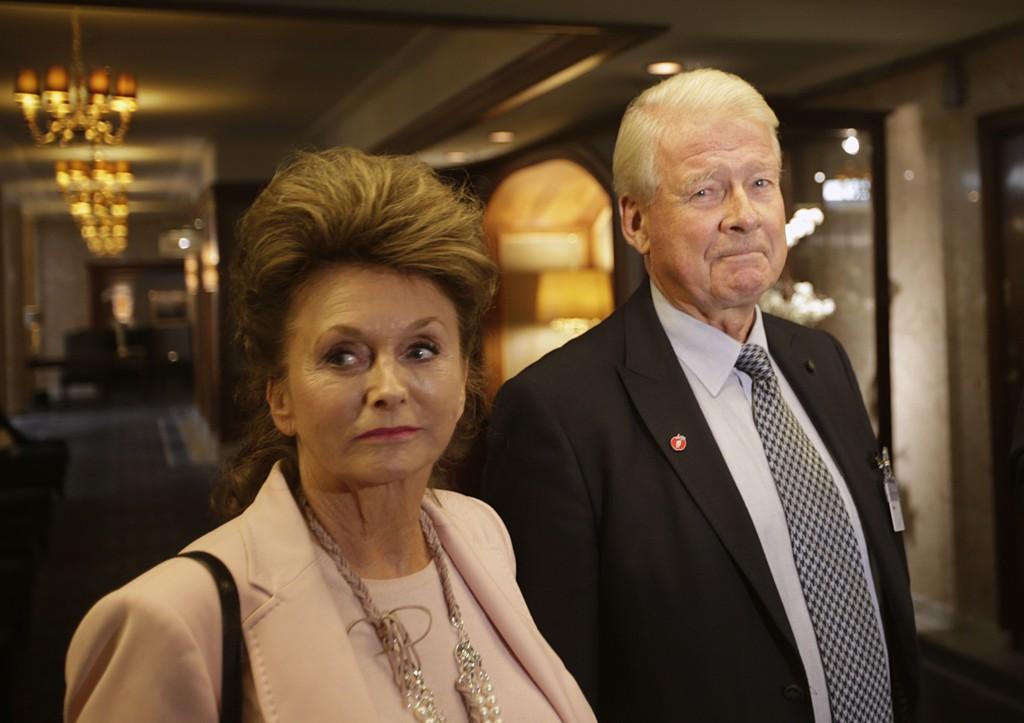Eli og Carl I. Hagen var begge markante skikkelser i norsk samfunnsliv da han var leder i Fremskrittspartiet.