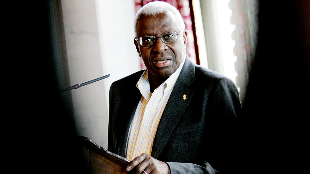 Ekspresident Lamine Diack i IAAF.