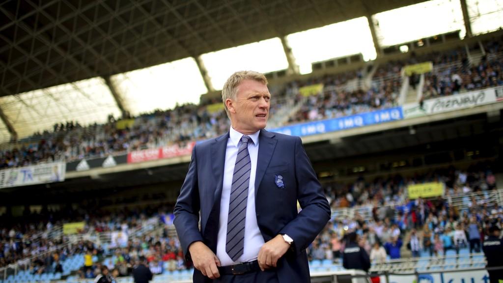 FERDIG: David Moyes har fått sparken som hovedtrener i Real Sociedad.
