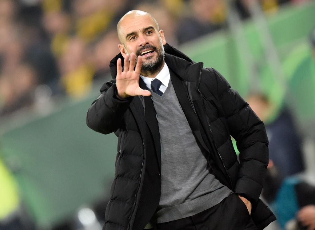 NÆR NY AVTALE: Josep Guardiola ser ut til å bli i Bayern München.